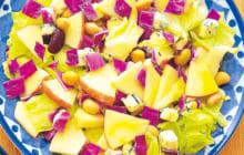 画像:美味しいレシピ vol.216 – チーズとりんごのサラダ