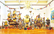 画像:ザ・キャビンカンパニー絵本原画展 –あたまのなかのぼうけん–