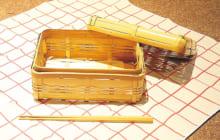 「日奈久籠」8640円。箸5膳入りで1080円