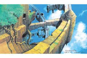 《荒廃したラピュタ》天空の城ラピュタ(c)1986 Studio Ghibli