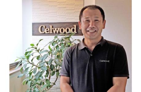 『セルウッド』代表取締役の江藤彰太さん