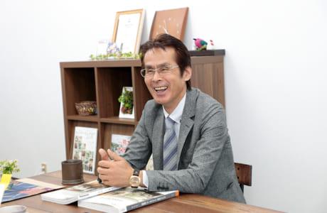 『アイムホーム』代表取締役の荒木衛治さん