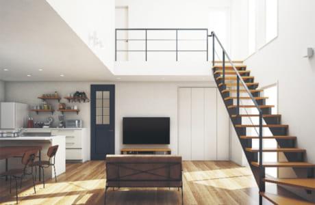 「テクノストラクチャー工法」の家の施工イメージ