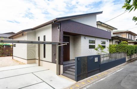 同社の家づくりは、ライフスタイルや土地の形状、要望に合わせた自由設計も魅力