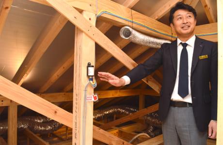 家づくりに自信があるからこそ、モデルハウスでは家の構造や工法を公開しています