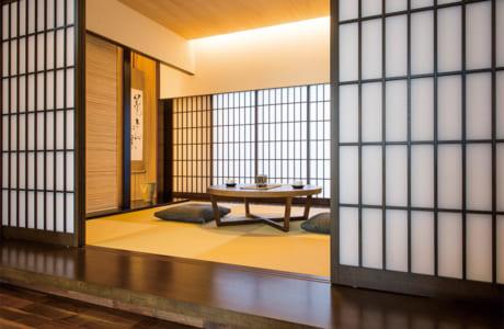 和モダンな雰囲気の和室は存在感抜群です