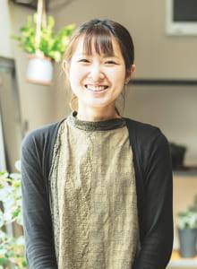 COM-HAUS(コムハウス) グリーンアドバイザー・BLANC CAFE店長 松田 成美さん