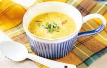 画像:カレー豆乳スープ