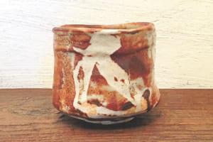 「志野茶碗」
