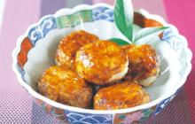 画像:おうちでCOOK – ピリ辛の甘じょっぱいタレがマッチ サトイモの甘辛お焼き