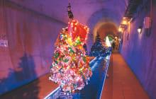画像:高森湧水トンネル クリスマスファンタジー
