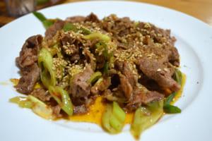 ラム肉クミン炒め(定食)