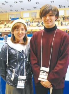 「大きな外国人選手に対しても、瞬発力やチームワークで対抗する日本の選手たちがカッコよかった! いろんなスポーツの魅力が詰まった競技だと思いました」西島明美さん(46) 夢左志さん(19)