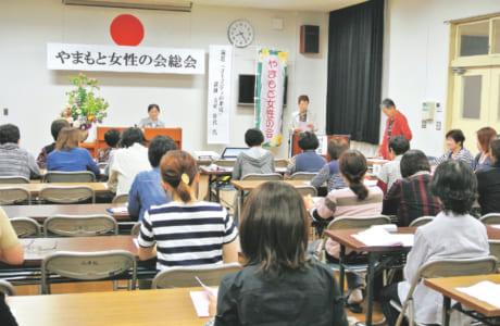 年1回開催される総会では、メンバーの意識向上を目的とした講演会も実施(写真提供/植木まちづくりセンター)
