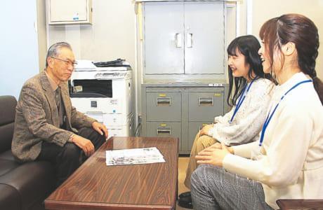 顕彰会の活動についてだけでなく、横井小楠が残した功績なども詳しく教えてくれた富澤会長