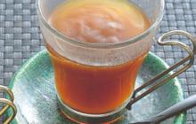 画像:美味しいレシピ vol.229 – 2種のくず湯【黒糖ショウガのくず湯】