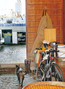 野中さんの自宅は古民家。土間に自転車を置いていたため、10年近くもの間、毎日見ては「もったいないことをしているなあ」と罪悪感を感じていたとか