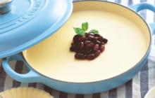 画像:美味しいレシピ vol.231 – ミルク小豆プリン