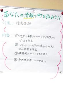 方向性や具体的な企画内容に迷ったグループには水野さんが入り、アドバイスやヒントを提供