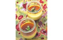 画像:美味しいレシピ vol.230 – グリーンアスパラガスのプリン
