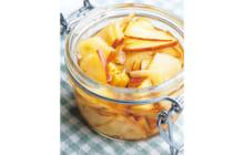 画像:リンゴのシロップ漬け