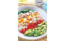 画像:おうちでCOOK – サラダチキンのコブサラダ