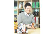 画像:【466号】すてきびと – ロボット・プログラミング教室指導員 前原 栄輔さん