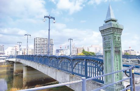 昭和40(1965)年まで、熊本市電川尻線が走っていました