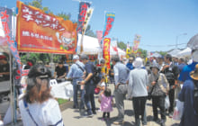 画像:南九州西回り自動車道 水俣IC開通記念イベント