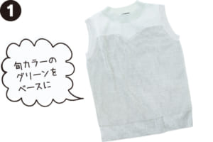 (1)トップス参考商品/B