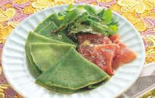 画像:美味しいレシピ vol.234 – ほうれん草のクレープ
