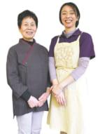 4代目店主 江藤暁美さん(右)、3代目店主・現店長 緒方房子さん
