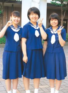 (写真左から)田上花ノ子さん、田上愛子さん、蓮田和華奈さん