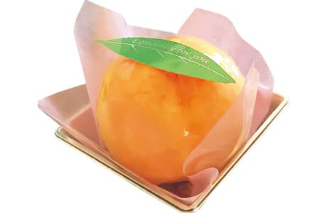 まるごと桃のケーキ