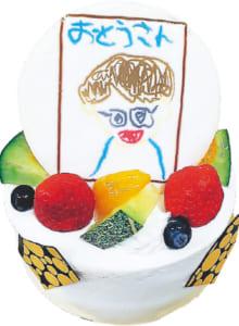父の日プリントケーキ