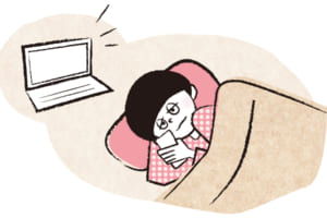 眠る前のパソコン・スマホはNG