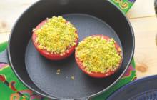 画像:美味しいレシピ 特別編 – トマトのパン粉焼き