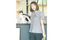 画像:【482号】すてきびと – Cattonネコリパ ジョートフルステーション店長 梅崎 尚子さん
