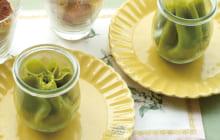画像:美味しいレシピ vol.238 – しらたまアイスのクレープ包み