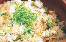 画像:おうちでCOOK – サケとキュウリの混ぜずし
