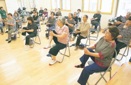 体を動かすことはもちろん、同世代の仲間が集まって一緒に頑張ることが、参加者たちの生きる活力になっているそうです