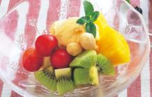 画像:美味しいレシピ vol.239 – フルーツサンデー