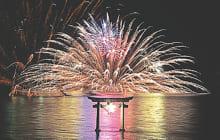 画像:不知火(しらぬい)海の火まつり