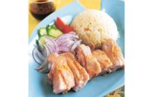 画像:カオマンガイ 鶏肉の炊き込みごはん