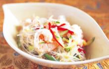 画像:ヤムウンセン エビと春雨の彩りサラダ