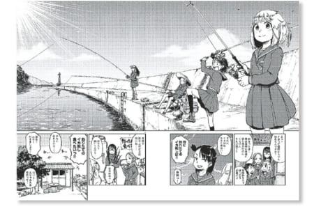 TVアニメ化も決定した注目の作品 美しい海の風景に癒やされる… (C)小坂泰之(秋田書店)2017