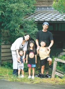 山部さんと中村さん、子どもたち