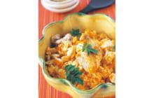 画像:おうちでCOOK – 鯛(たい)とニンジンの炊き込みご飯