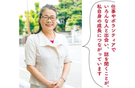 飯川照美さん(70歳)=熊本市