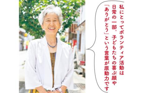 児玉静子さん(74歳)=熊本市